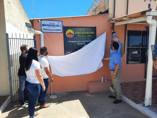 Fábrica de Embutidos Princesa da Serra inaugura em Aceguá