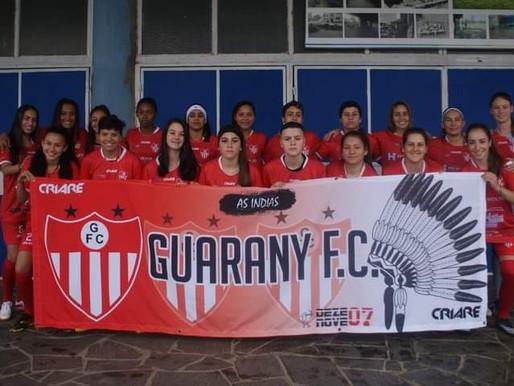 Aceguaenses são destaques no futebol feminino da região