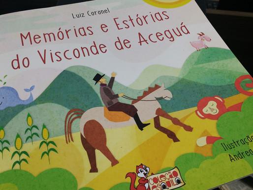 Luiz Coronel lança 'Memórias e Estórias do Visconde de Aceguá' na Feira do Livro de Porto Alegre