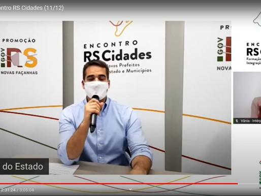 Marcus Aguiar participa do primeiro Encontro RS Cidades com governador Eduardo Leite