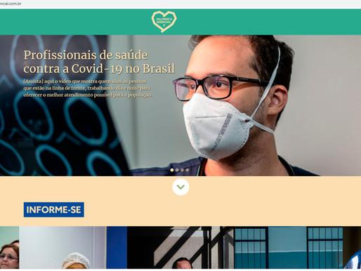 Cruz Vermelha lança campanha de valorização dos profissionais de saúde