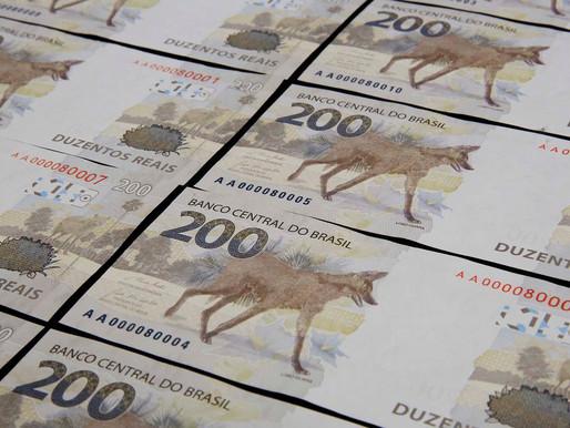 Banco Central apresenta nova cédula de R$ 200