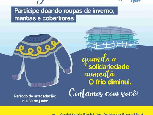 Prefeitura de Aceguá lança Campanha do Agasalho 2021