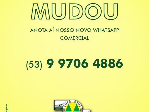 Coopersul divulga novo número de WhatsApp