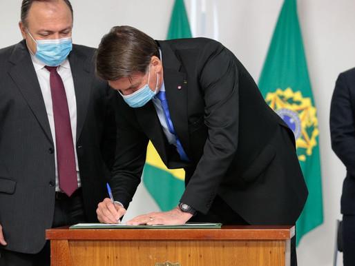 MP destina quase R$ 2 bilhões para viabilizar vacina contra covid-19