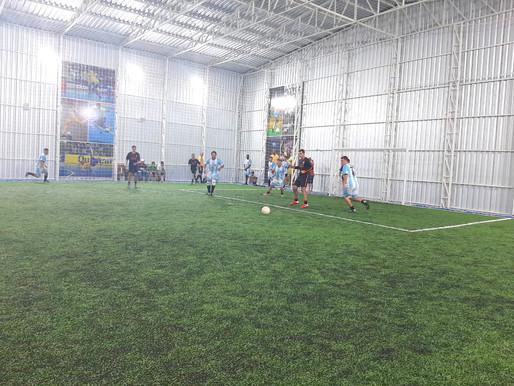 Liga Aceguá City de Futebol 5 estreou neste domingo