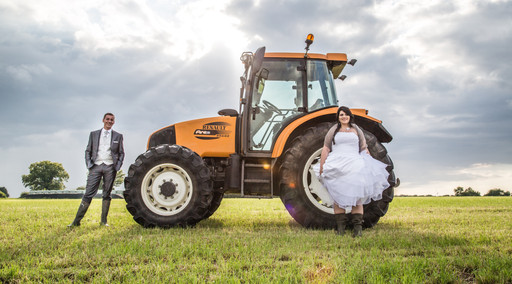 Mariage campagne
