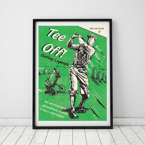 Tee Off! Print