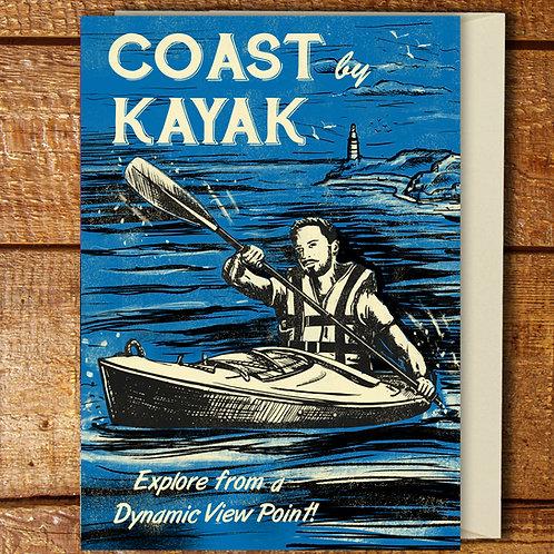 PACK of 6 Kayaking Cards