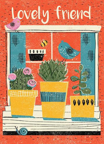Loveley Friend Card