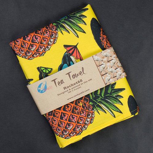 Pineapple Tea Towel
