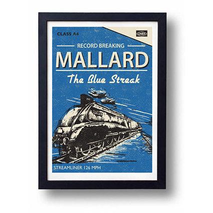 PACK of 2 Mallard Print