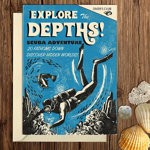 Explore Depths Card