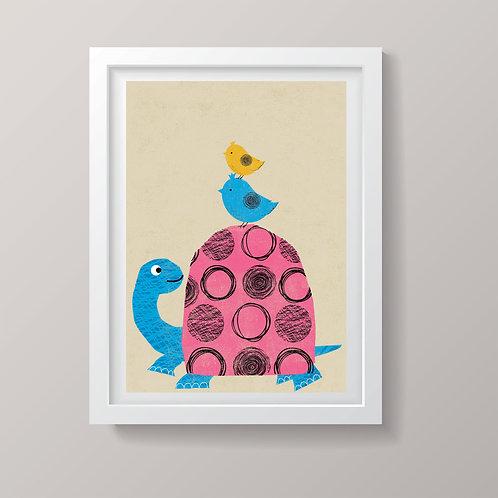 PACK of 2 Tortoise Print