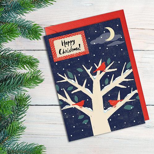 Christmas Night Time Tree