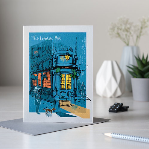 PACK of 6 The London Pub Card