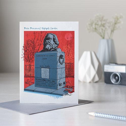 The Marx Monument, Highgate, London