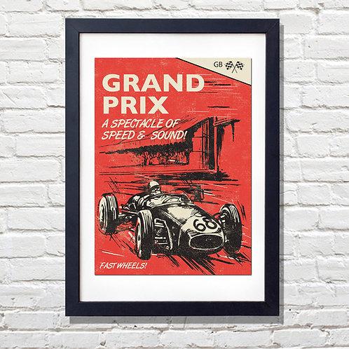 Grand Prix Print