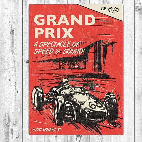 PACK of 6 Grand Prix Card