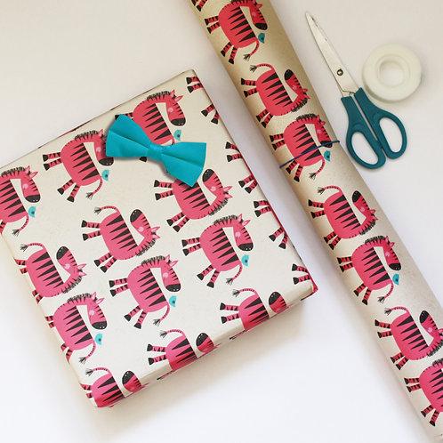 Zebra Gift Wrap