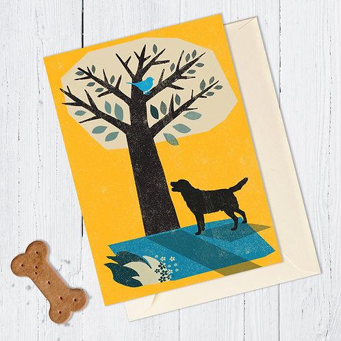 Labrador Retriever Dog Card