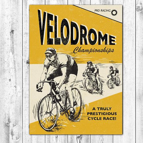 PACK of 6 Velodrome Card