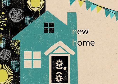 Retro New Home Card