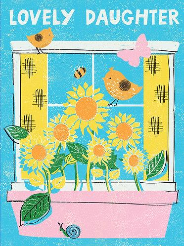 Lovely Daughter Card