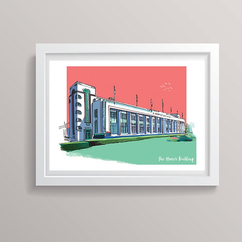 The Hoover Building  London Print