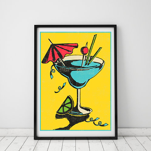 Cocktail Print