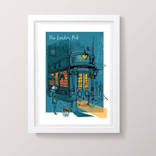 The London Pub Print