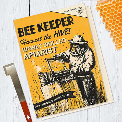 Bee Keeper Card