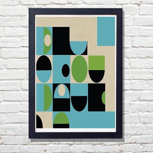 Pattern Geometrical Print