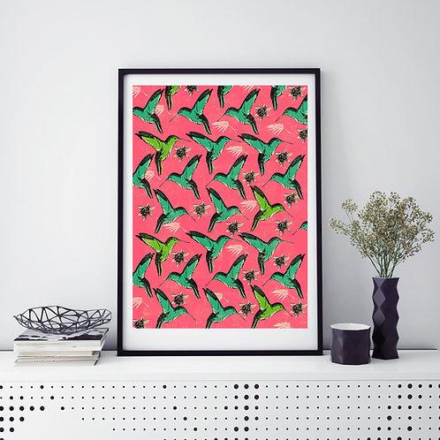 Humming Bird's Print