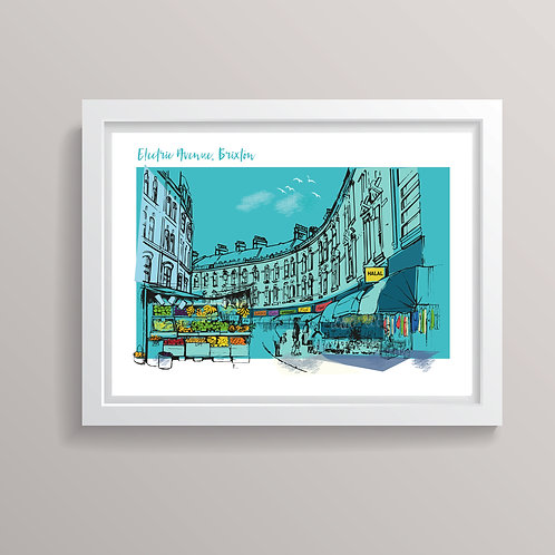 Electric Avenue, Brixton Print