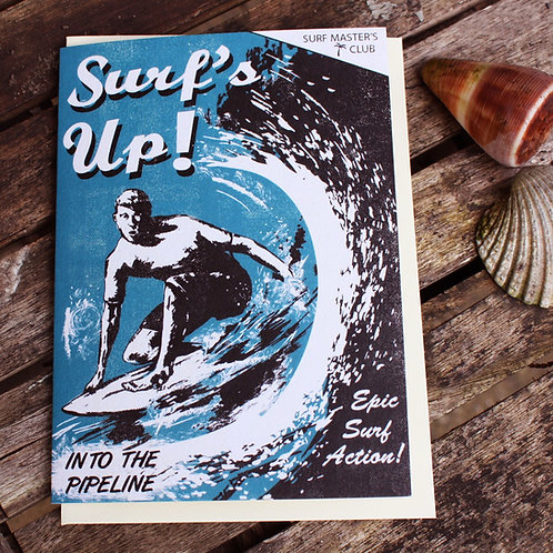 Surf's Up Card