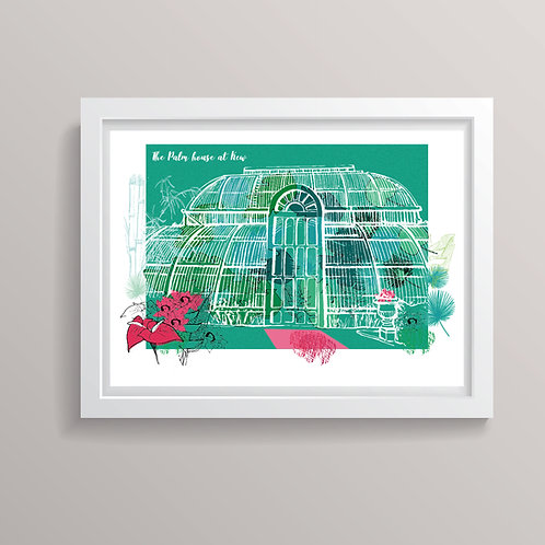 The Palm House at Kew Print