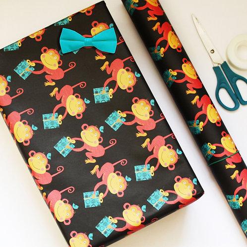 Monkey Gift Wrap
