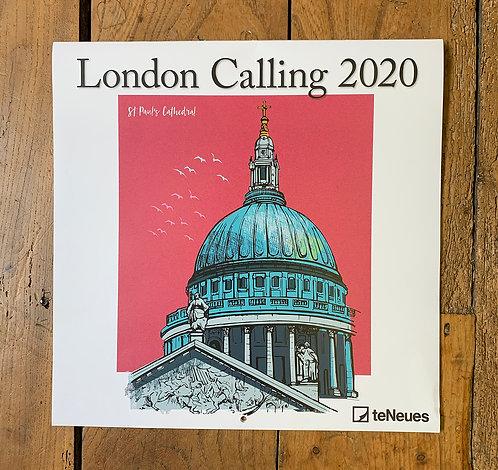 2020 London Themed Calendar