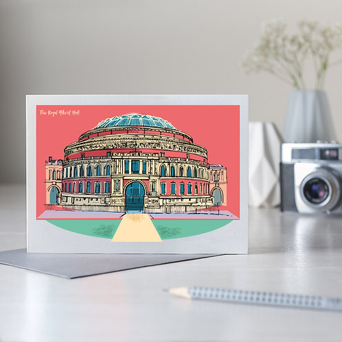 PACK of 6 The Royal Albert Hall Card