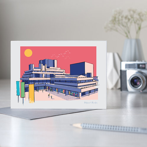 The National Theatre, London Card