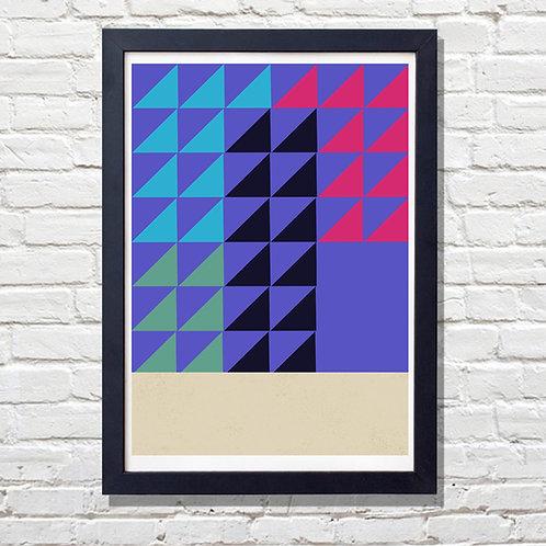 Vivid Geometrical Print