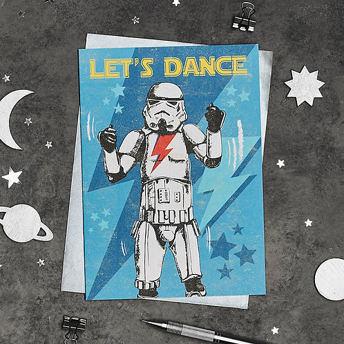 Stormtrooper Let's Dance Card