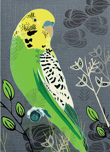 Budgie Note Book