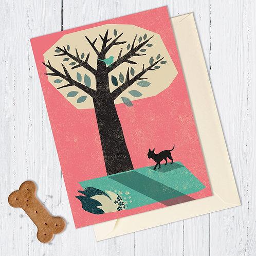 PACK of 6 Chihuahua Dog Card