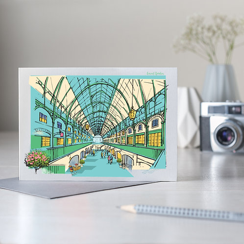 PACK of 6 Covent Garden Card