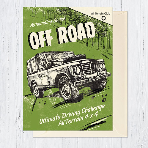 Off Road Card