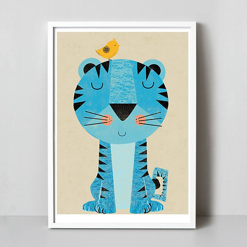 PACK of 2 Tiger Print