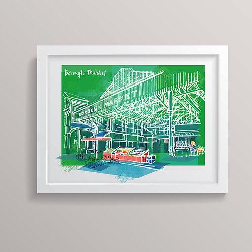 Borough Market Print