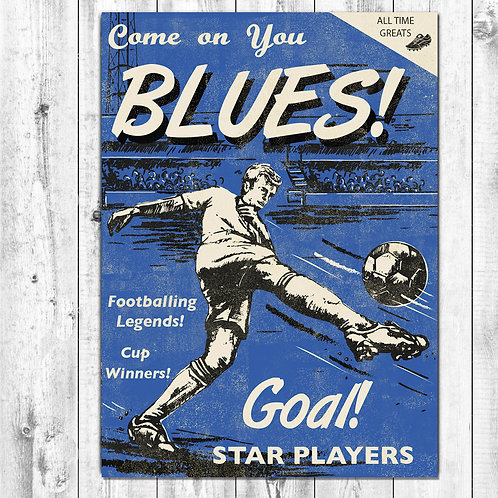 Blues Football Card